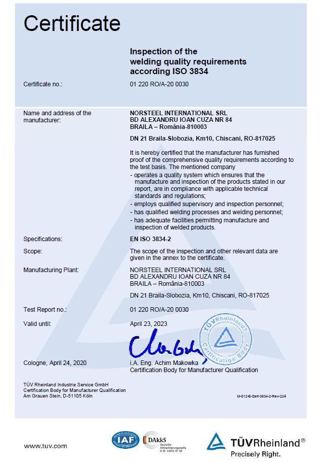 DIN EN ISO 3834-2